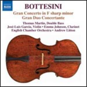 Gran concerto per violino, contrabbasso e orchestra - Gran Duo Concertante - CD Audio di Giovanni Bottesini