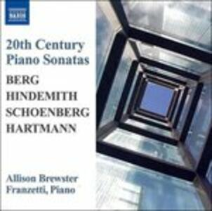 Sonate per Piano - CD Audio di Alban Berg