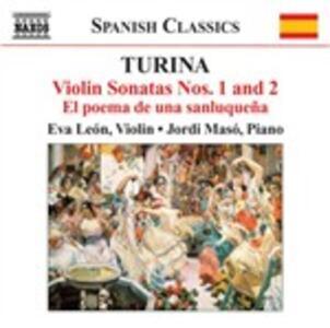 Musica per violino e pianoforte vol.1 - CD Audio di Joaquin Turina