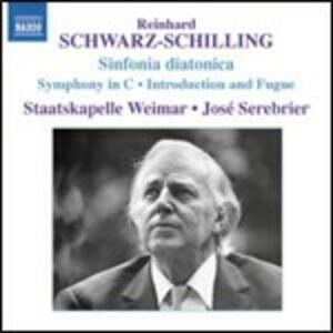 Sinfonia didattica - Sinfonia in Do - Introduzione e fuga - CD Audio di José Serebrier,Staatskapelle Weimar,Reinhardt Schwarz-Schilling