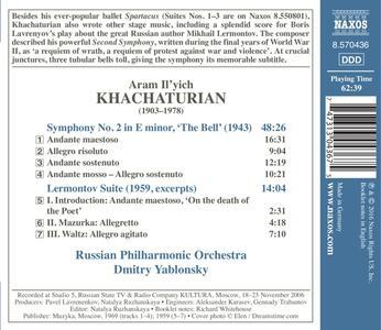Sinfonia n.2 - CD Audio di Aram Khachaturian - 2