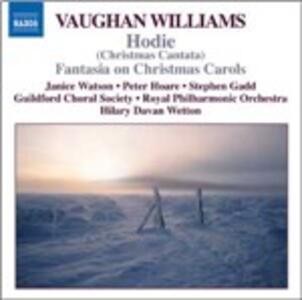 Hodie - Fantasia on Christmas Carols - CD Audio di Ralph Vaughan Williams