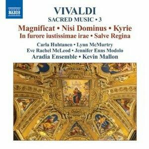 Musica sacra vol.3 - CD Audio di Antonio Vivaldi,Kevin Mallon