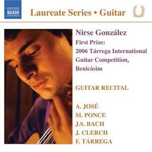 Guitar Recital - CD Audio di Nirse Gonzales
