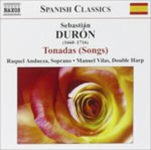 Tonadas - CD Audio di Sebastian Duron