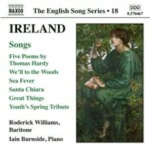 Songs - CD Audio di John Ireland,William Roderick