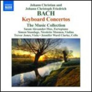 Concerti per strumento a tastiera - CD Audio di Johann Christian Bach,Johann Christoph Friedrich Bach,Susan Alexander-Max