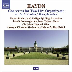 Concerti per 2 lyre organizzate HOB VIIh 1-5 - CD Audio di Franz Joseph Haydn,Orchestra da camera di Colonia,Helmut Müller-Brühl,Benoit Fromanger,Christian Hommel