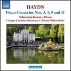 Concerti per pianoforte n.3, n.4, n.9, n.11 - CD Audio di Franz Joseph Haydn,Sebastian Knauer