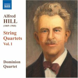 Quartetti per archi n.1, n.2, n.3 - CD Audio di Alfred Hill