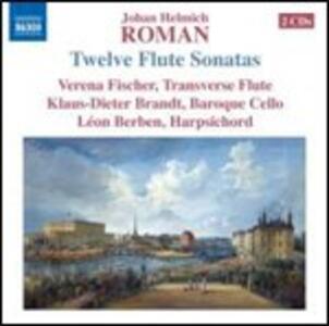 Sonate per flauto - CD Audio di Johan Helmich Roman