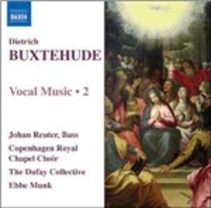 Musica vocale vol.2 - CD Audio di Dietrich Buxtehude