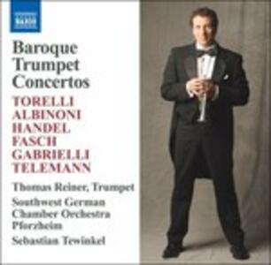 Baroque Trumper Concertos - CD Audio