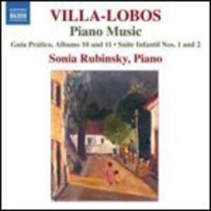 Opere per pianoforte vol.8 - CD Audio di Heitor Villa-Lobos,Sonia Rubinsky