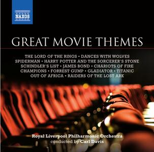 Great Movie Themes (Colonna Sonora) - CD Audio di Royal Liverpool Philharmonic Orchestra,Carl Davis