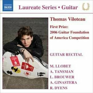 Guitar Recital - CD Audio di Thomas Viloteau