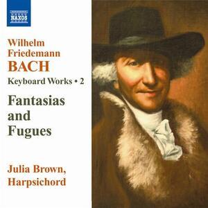Opere per strumento a tastiera vol.2 - CD Audio di Wilhelm Friedemann Bach