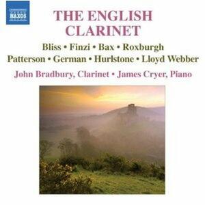 The English Clarinet - CD Audio di John Bradbury