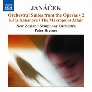 Suites orchestrali dalle opere vol.2 - CD Audio di Leos Janacek,New Zealand Symphony Orchestra,Peter Breiner
