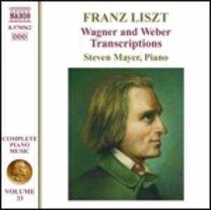 Musica per pianoforte vol.33 - CD Audio di Franz Liszt