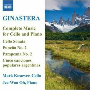 Opere per violoncello e pianoforte - CD Audio di Alberto Ginastera,Mark Kosower,Oh Jee-Won