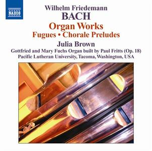 Opere per organo - CD Audio di Julia Brown,Wilhelm Friedemann Bach