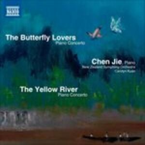 The Butterfly Lovers. Concerto per Pianoforte - CD Audio di Zhanhao He,Gang Chen