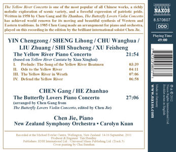 The Butterfly Lovers. Concerto per Pianoforte - CD Audio di Zhanhao He,Gang Chen - 2