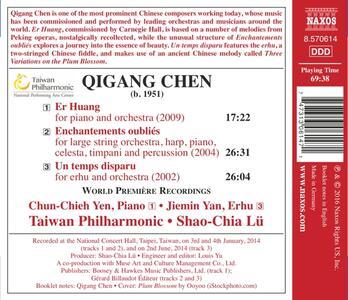 Enchantements oubliés - Er Huang - CD Audio di Qigang Chen - 2