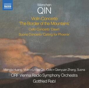 Concerti - CD Audio di Gottfried Rabl,Wenchen Qin