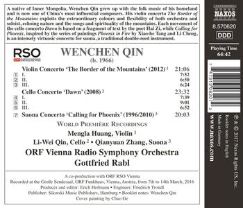 Concerti - CD Audio di Gottfried Rabl,Wenchen Qin - 2