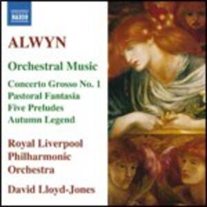 Musica orchestrale - CD Audio di Royal Liverpool Philharmonic Orchestra,William Alwyn,David Lloyd-Jones