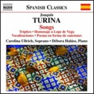 Liriche da camera - CD Audio di Joaquin Turina,Debora Halasz,Carolina Ullrich