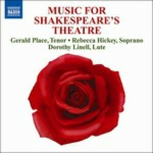 Music for Shakespeare's Theatre - CD Audio