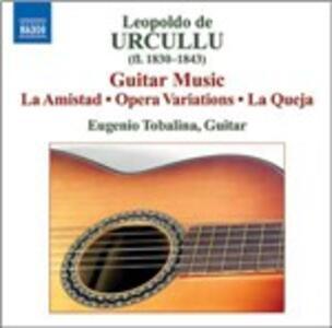 Opere per chitarra - CD Audio di Leopoldo de Urcullu