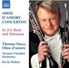 Concerti per oboe d'amore - CD Audio di Johann Sebastian Bach,Georg Philipp Telemann,Kevin Mallon,Toronto Chamber Orchestra,Thomas Stacy