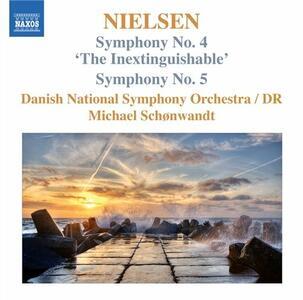 Sinfonie n.4, n.5 - CD Audio di Carl August Nielsen