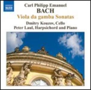 Sonate per viola da gamba - CD Audio di Carl Philipp Emanuel Bach