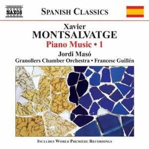 Musica completa per pianoforte vol.1 - CD Audio di Jordi Maso,Xavier Montsalvadtge