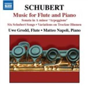 Opere per flauto e pianoforte - CD Audio di Franz Schubert,Uwe Grodd,Matteo Napoli