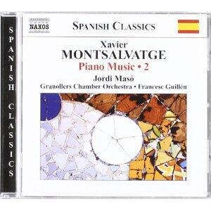 Musica completa per pianoforte vol.2 - CD Audio di Jordi Maso,Xavier Montsalvadtge