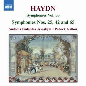 Sinfonie n.25, n.42, n.65 - CD Audio di Franz Joseph Haydn,Patrick Gallois,Sinfonia Finlandia