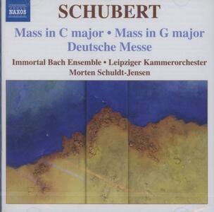 Messe D167, D452, Deutsche Messe D872 - CD Audio di Franz Schubert
