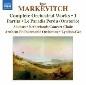 Musica per orchestra vol.1 - CD Audio di Igor Markevitch,Christopher Lyndon-Gee