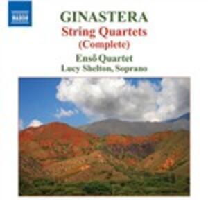 Quartetti per archi n.1, n.3 - CD Audio di Alberto Ginastera,Enso Quartet