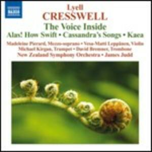 The Voice Inside Alas! - CD Audio di James Judd,Lyell Cresswell