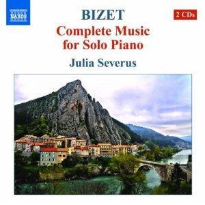 Musica per pianoforte - CD Audio di Georges Bizet,Julia Severus
