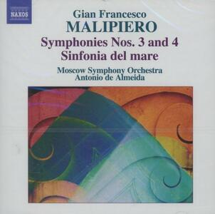 Sinfonie vol.1 - CD Audio di Gian Francesco Malipiero