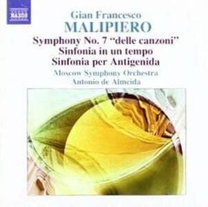 Sinfonie vol.4 - CD Audio di Gian Francesco Malipiero,Moscow Symphony Orchestra,Antonio de Almeida