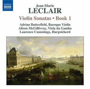 Sonate per violino vol.1 - CD Audio di Jean-Marie Leclair,Adrian Butterfield